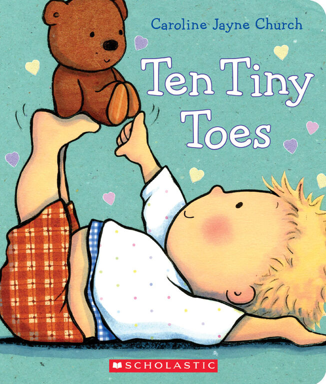 Ten Tiny Toes - English Edition