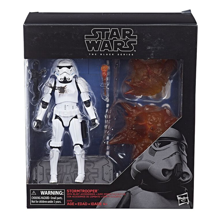 Star Wars The Black Series 6-inch Battle FX Stormtrooper - R Exclusive