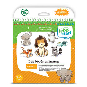 LeapFrog® LeapStart® The World of Baby Animals - Activty Book - French Edition