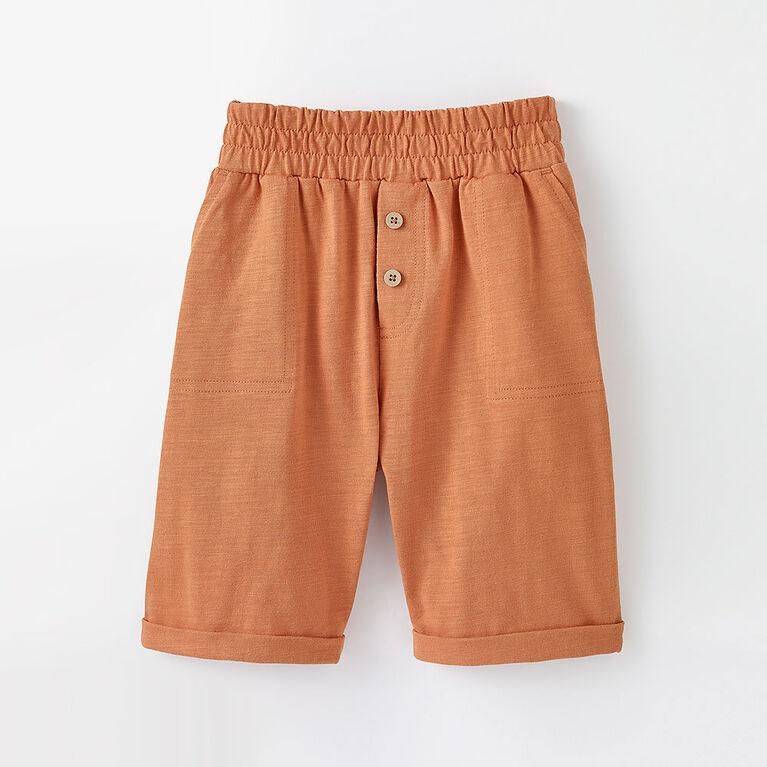 weekend short, 12-18m - orange