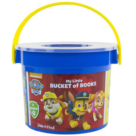 Disney Baby - Baby's First Look and Find - 8-Books in a Bucket and Baby Rattle