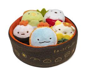 Sumikko Gurashi Mini Plush Stuffed Animals Sushi Bowl