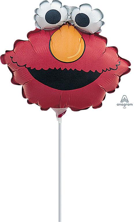 Elmo Head Mini Shape Air-Filled Balloon