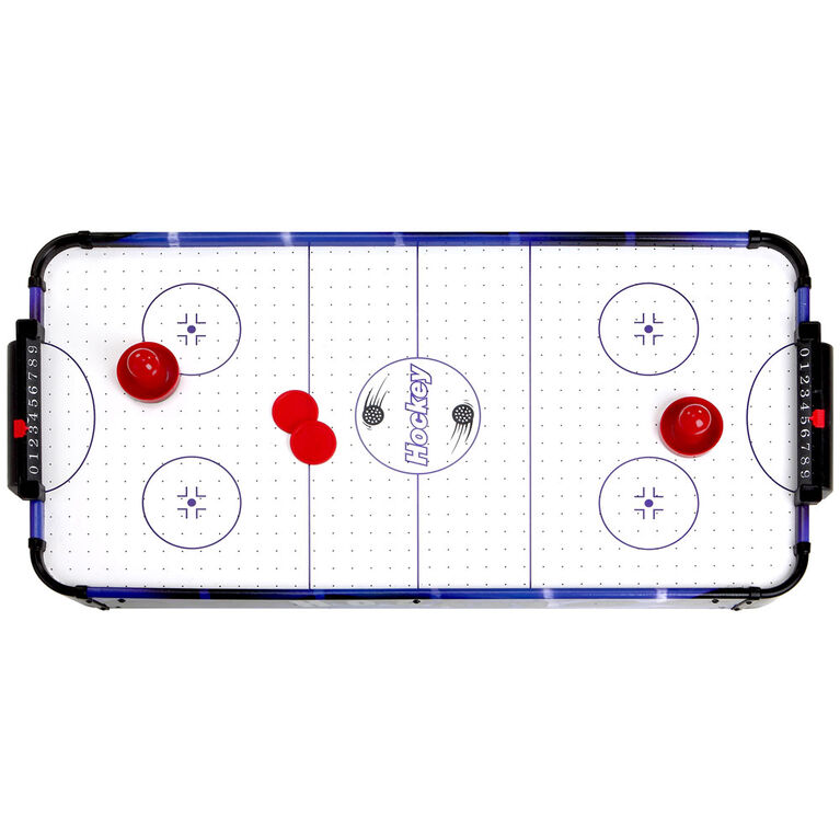 Blue Line 32 Inch Portable Table Top Air Hockey