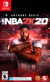 Nintendo Switch NBA 2K20.