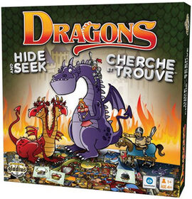 Dragons Hide & Seek - French Edition