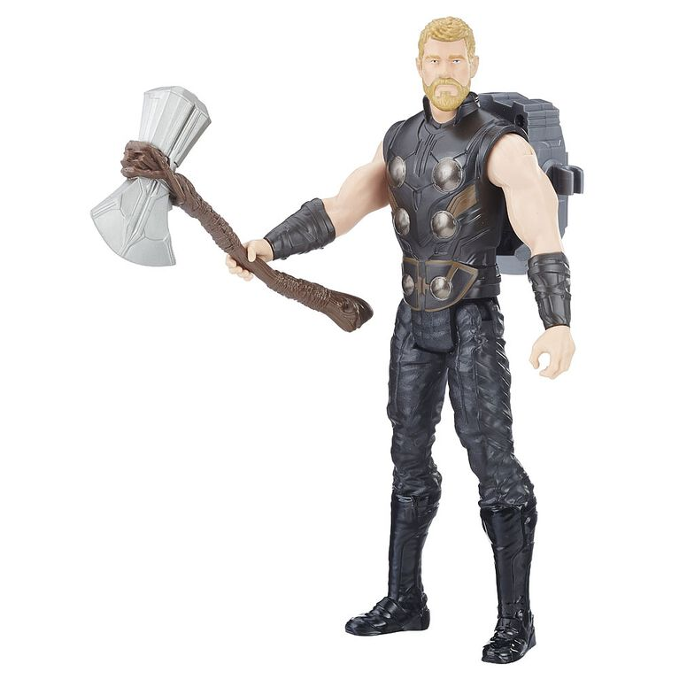 Marvel Avengers: Infinity War Titan Hero Power FX Thor  - French Edition