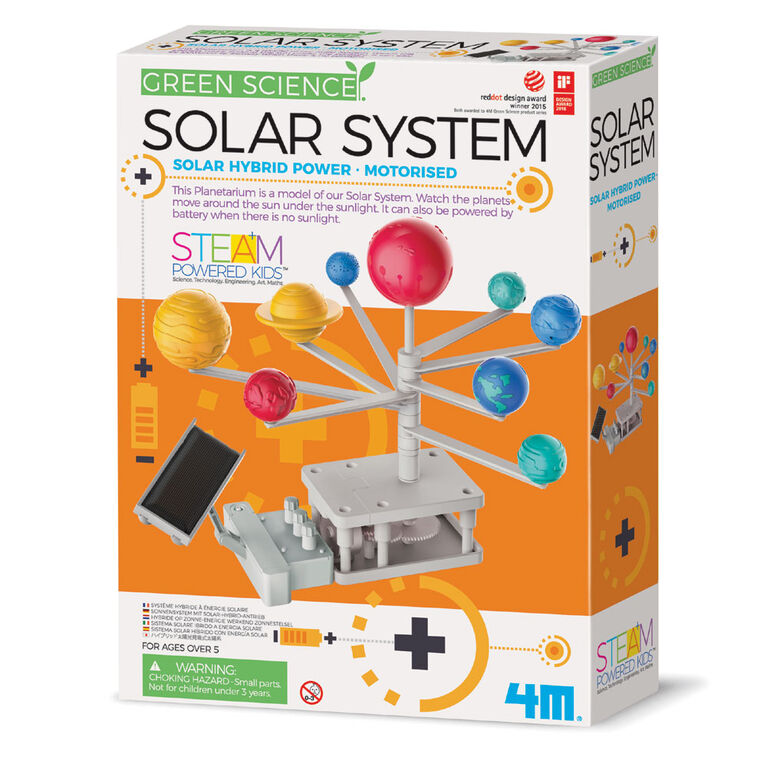 Hybrid-Powered Solar System Planetarium - English Edition