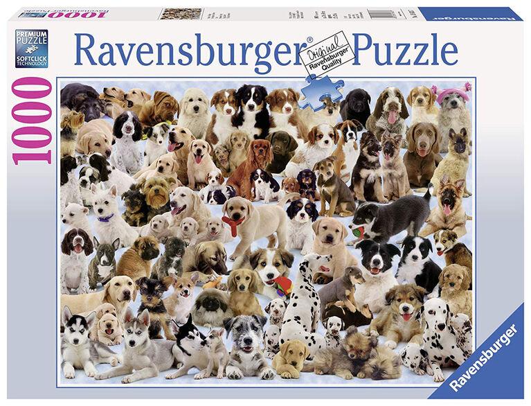 Ravensburger! Dogs Galore Jigsaw Puzzle - 1000 Piece