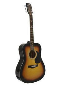 Guitare Acoustique Dreadnought Huntington de Bridgecraft - Explosion de tabac