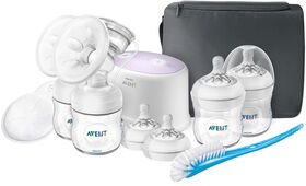 Philips Avent Double Electric Breast Pump with Breastfeeding Accessories