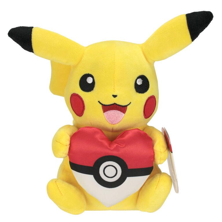 Peluche Pokémon de 20 cm - Oreiller en coeur