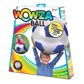 20 inch Wowza Blue Soccerball