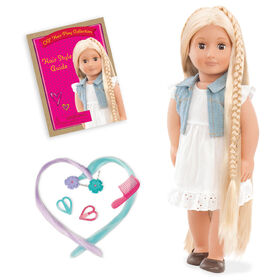 Our Generation, Phoebe - From Hair To There, 18-inch Hair Play Doll