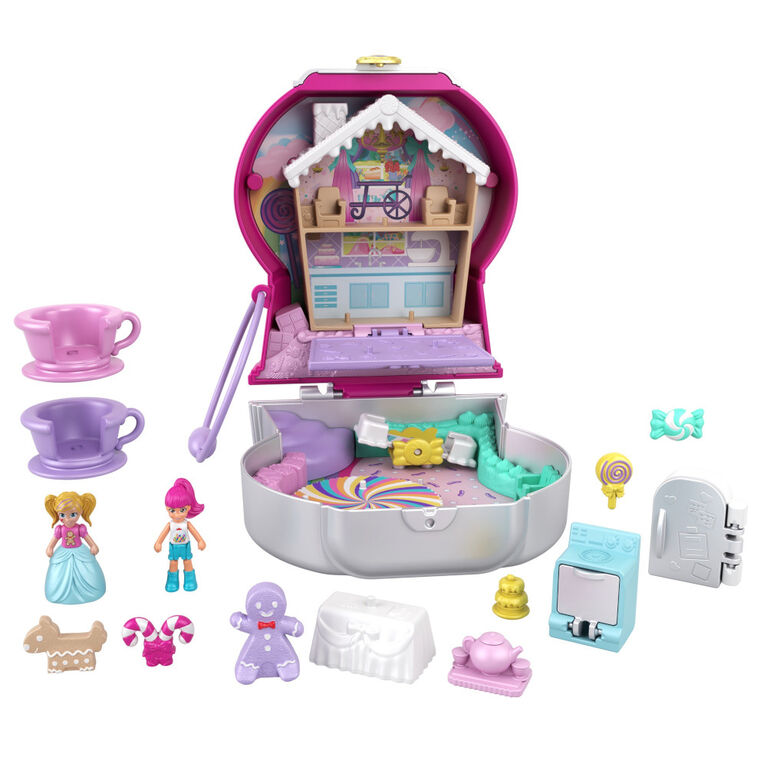 Polly Pocket - Candy Cutie Gumball Compact
