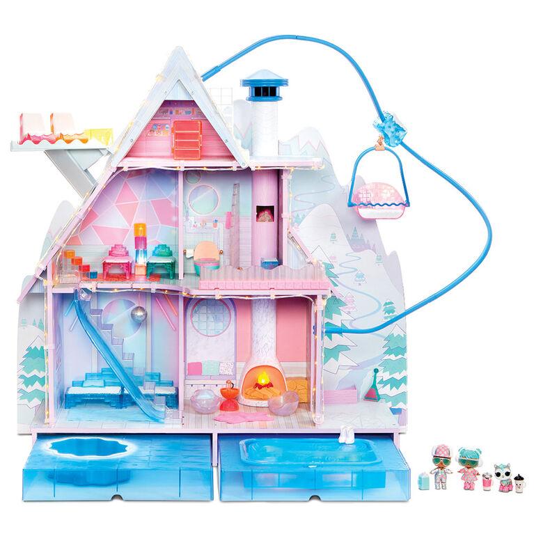 L.O.L. Surprise! Winter Disco Chalet Doll House