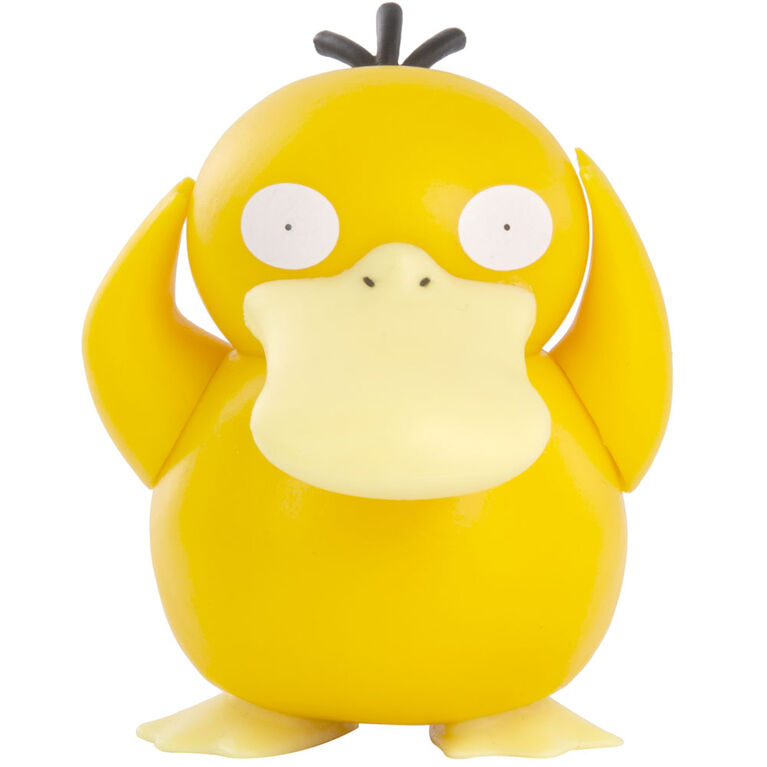 Emballage de figurine de combat Pokémon - Psyduck de 7,6 cm, paquet de 1 - Édition anglaise