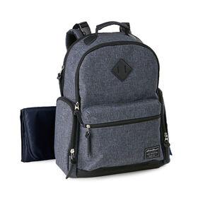 Eddie Bauer Places & Spaces  Bridgeport Backpack Diaper Bag - Denim