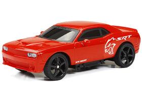 Challenger, voiture de sport toutes fonctions RC 1/24 New Bright couleur rouge.