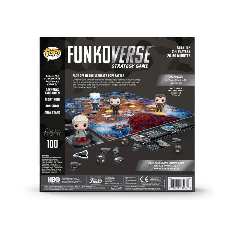 Funkoverse: Game Of Thrones 100 4-Pk - Édition anglaise