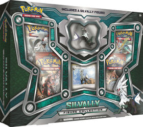 Pokémon TCG: Silvally Figure Collection