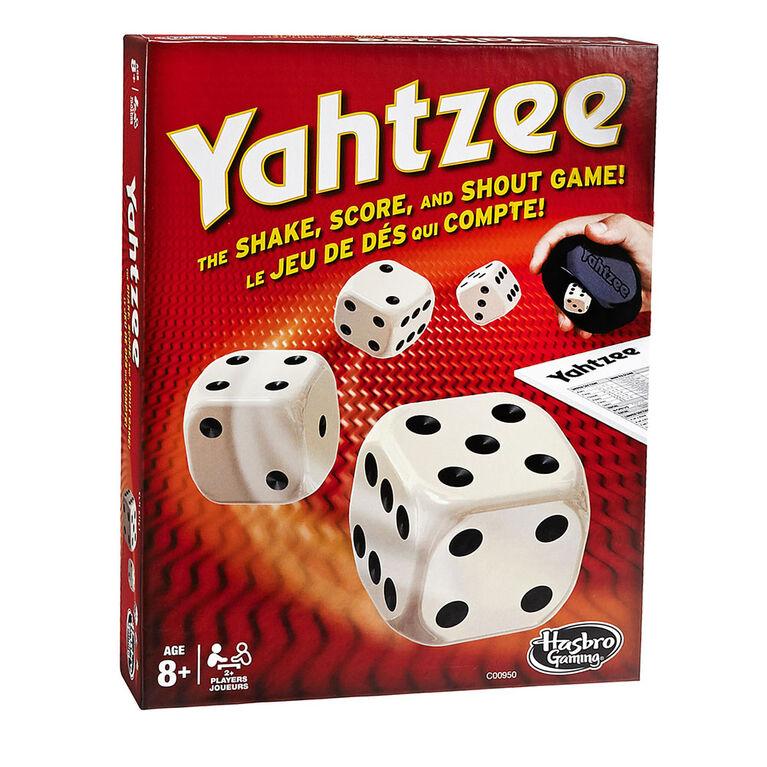 Hasbro Gaming - Yahtzee - styles may vary