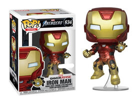 Figurine en Vinyle Iron Man par Funko POP! Marvel Avengers Gamerverse
