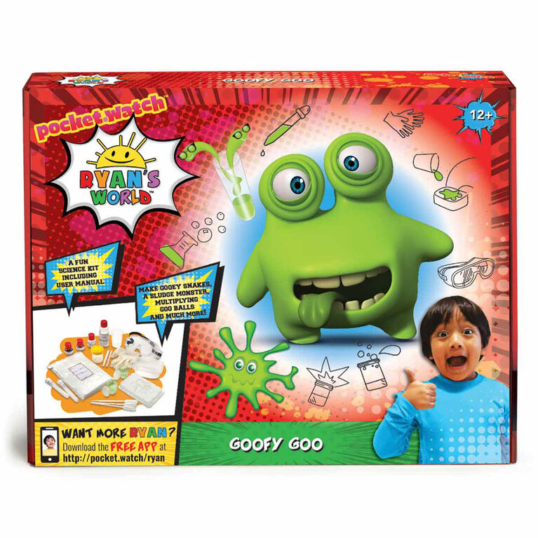 Ryan's World Goofy Goo Science Kit - R Exclusive - English Edition