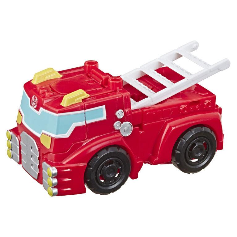 Transformers Rescue Bots Academy  de Heatwave le robot pompier