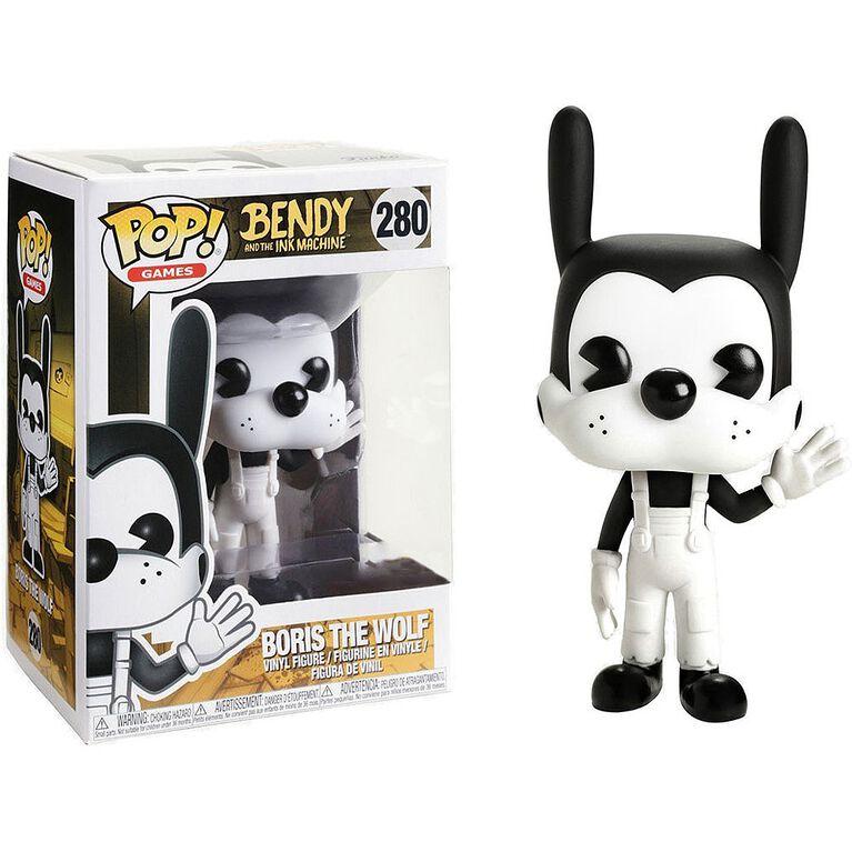 Funko POP! Games: Bendy and the Ink Machine - Boris the Wolf Vinyl Figure