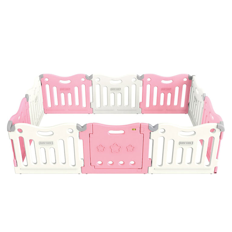 BabyCare Funzone Playpen - Pink