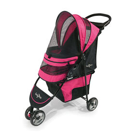 Gen7Pets Regal PLUS Pet Stroller - Raspberry Sorbet