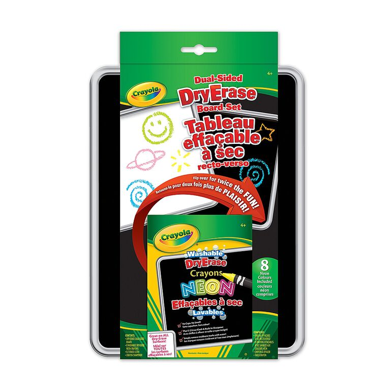 Crayola - Dual-Sided Dry-Erase Board Set