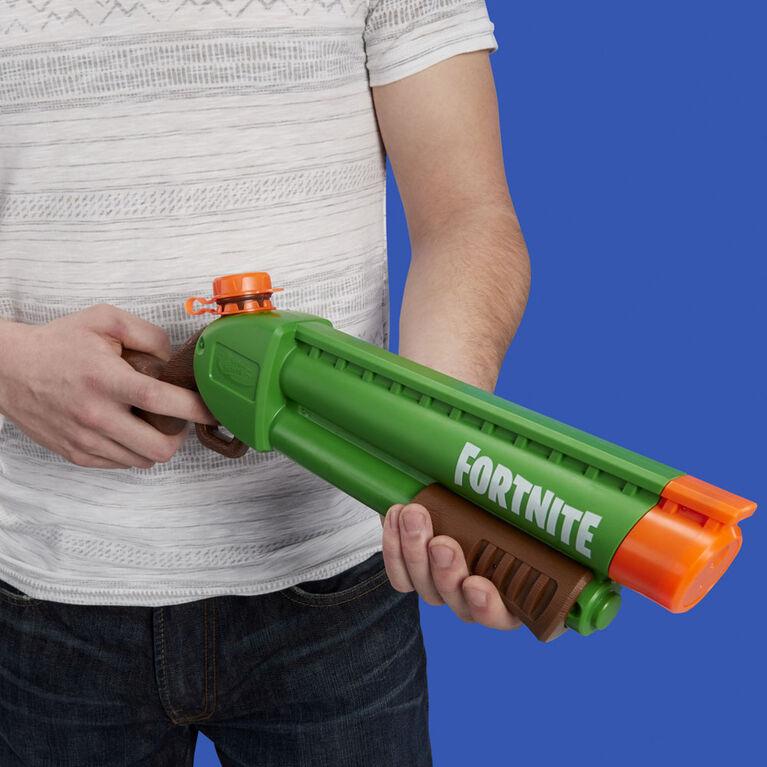 Nerf Super Soaker Fortnite - Blaster à eau Pump-SG