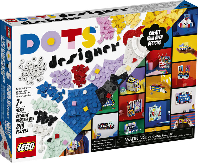 LEGO DOTS La boîte de conception créative 41938