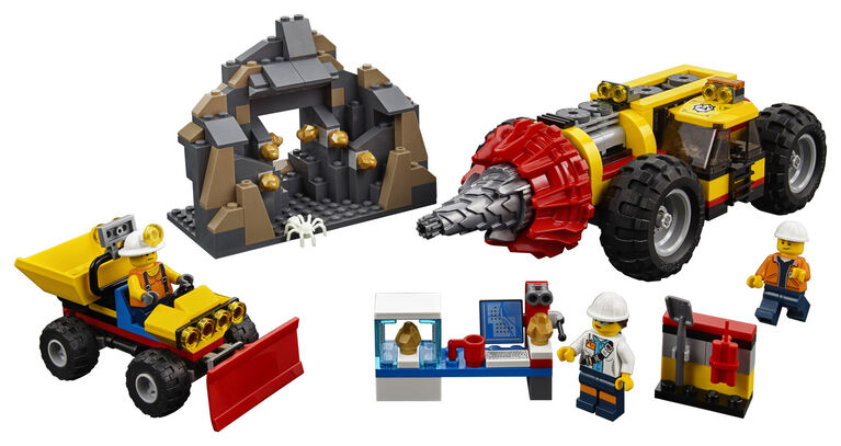 LEGO City Mining Heavy Driller 60186