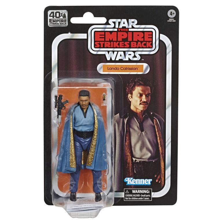 Star Wars The Black Series, Figurine de 15cm de Lando Calrissian, édition 40eanniversaire