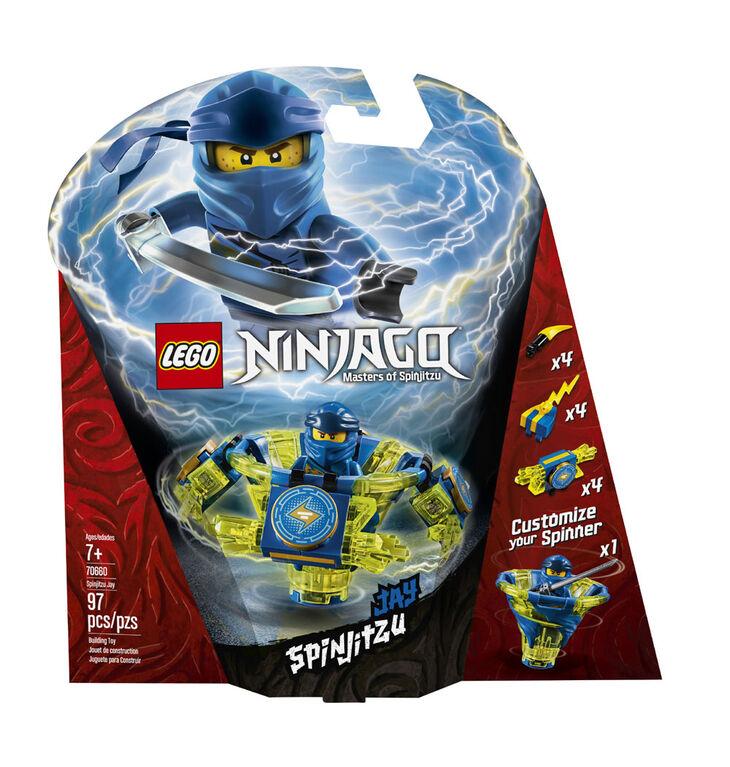 LEGO Ninjago Toupie Spinjitzu Jay 70660