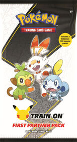 Pokemon First Partner Pack - Galar - English Edition