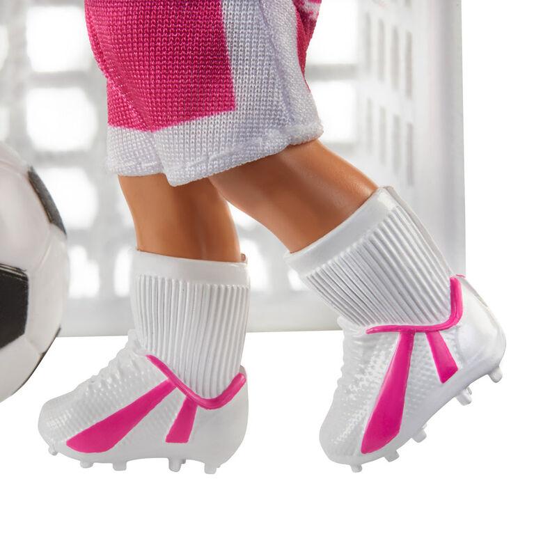 Barbie - Poupee Entraîneuse de soccer