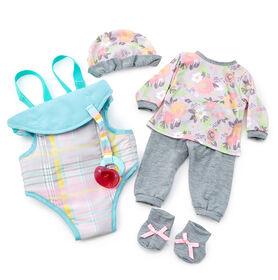 Madame Alexander - 16Inch Lil' Cuddles Gift Set