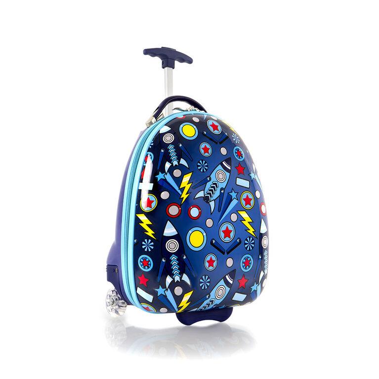 Bagages en forme d'oeuf pour enfants Heys - Espace