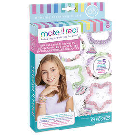 Make It Real Bracelets En Spirale Scintillante