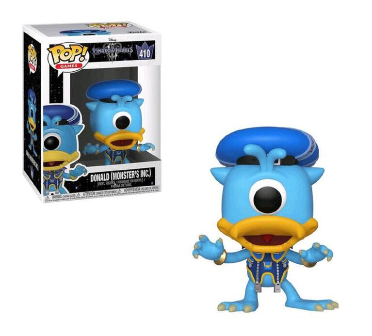Figurine en Vinyle Donald (Monster's Inc.) par Funko POP! Kingdom Hearts 3