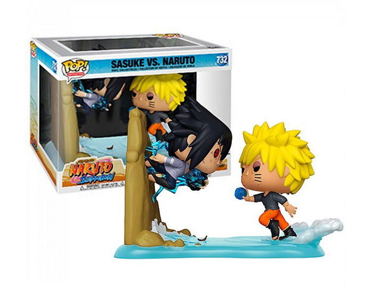 Funko POP! Moments Animation: Naruto - Naruto vs. Sasuke - English Edition - R Exclusive