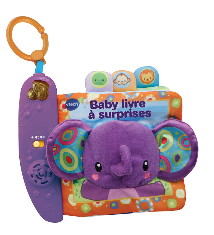 Baby livre à surprises - Édition française