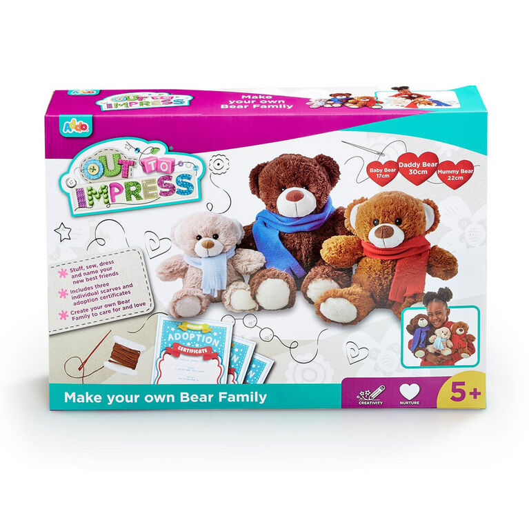 Out To Impress Make Your Own Bear Family