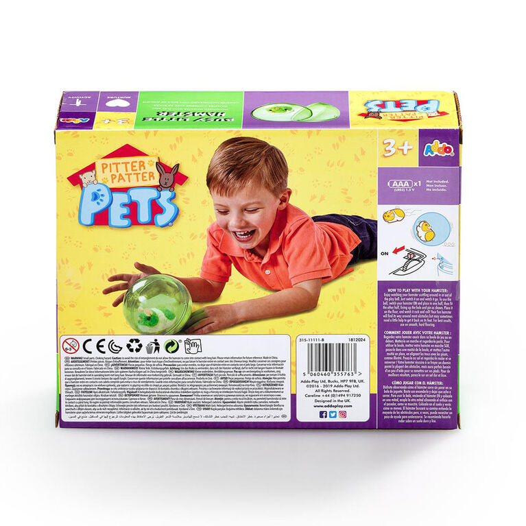 Pitter Patter Pets Busy Little Hamster Neon - Green - R Exclusive