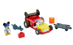Fisher-Price - Disney Mickey And The Roadster Racers - Mickey's Roadster Transforming Playset