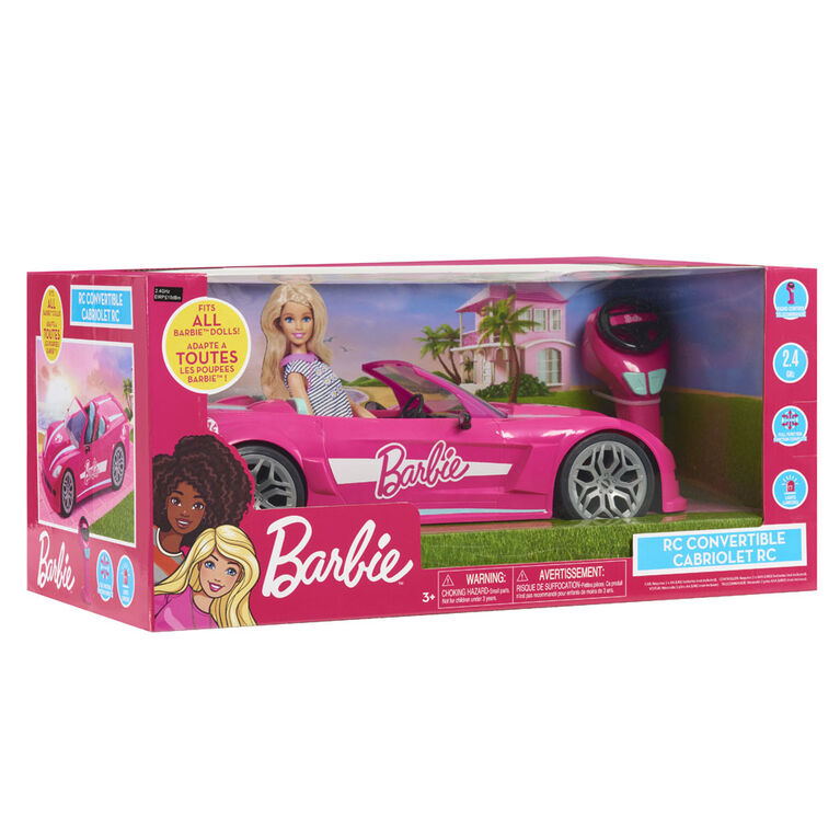 Barbie RC Convertible Car - R Exclusive